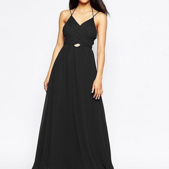 aedac39b300 ASOS Dresses   Skirts - ASOS halter neck maxi dress